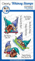 Whimsy - Clear Stamp Set - Gnome One Else - C1373