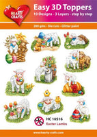 Easy 3D Toppers - Easter Lambs HC10516