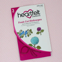 Heartfelt Creations - Fresh Cut Hydrangea - HCD1-7279