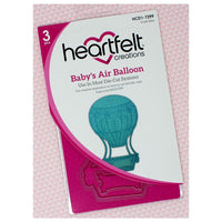 Heartfelt Creations - Die Set - Baby's Air Balloon -  HCD1-7299