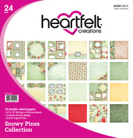 Heartfelt Creations - Snowy Pines Paper Collection - HCDP1-2117