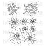 Delightful Daisies Cling Stamp Set