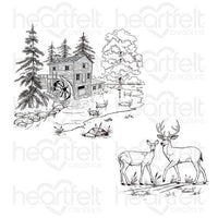 HCPC-3894 - Create a 'Scape Wilderness Cling Stamp Set