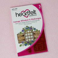 Heartfelt Creations - Cottage Window & Hydrangea Stamp Set - HHCPC-3902