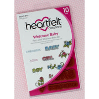 Heartfelt Creations - Stamp Set - Welcome Baby -  HCPC-3915