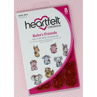 Heartfelt Creations - Stamp Set - Baby's Friend HCPC-3916