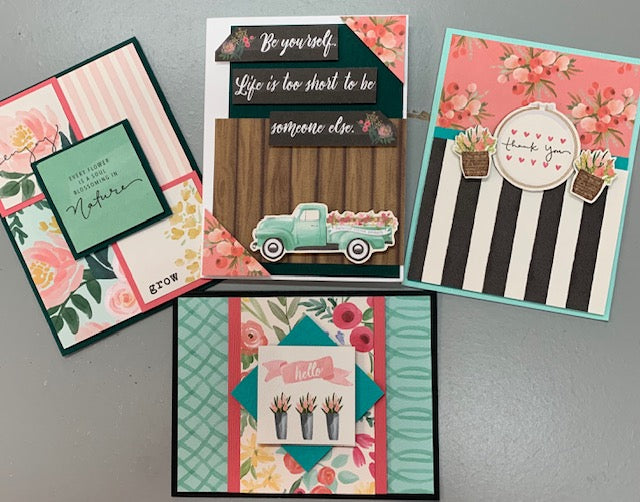 Flower Market Cards - Wed. May 22/19 - 11:00 to 1:00