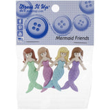 Dress It Up Embellishments - Mermaid Friends