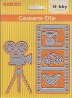 Nellie's Choice - Hobby Solution Die - Camera / Filmstrip