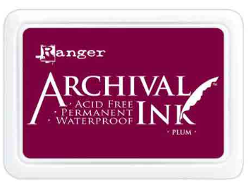 Ranger Mini Archival Ink Pads  - Plum