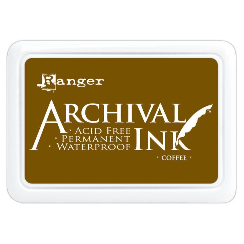 Ranger Mini Archival Ink Pads  - Coffee