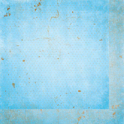 "BoBunny Double Dot - Powder Blue Vintage - 12""x12"" Cardstock"