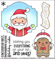 Darcie's - Clear Stamp Set - Santa's List POL479