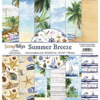 ScrapBoys Summer Breeze 12x12 Paper Pad