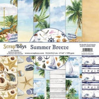 ScrapBoys Summer Breeze 6x6 Paper Pad