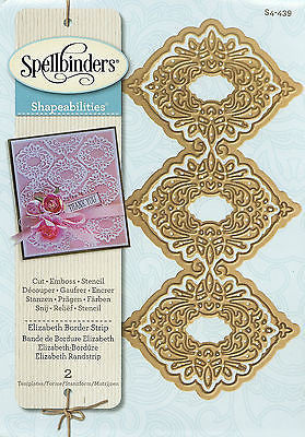 Spellbinder Die - Elizabeth Border Strip