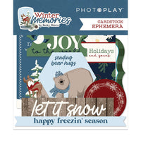 Photoplay - Ephemera Pack - Winter Memories - Reg. 7.29 Pre Order - 6.20