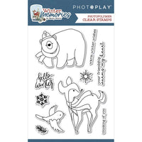 Photoplay - Clear Stamp Set - Winter Memories - reg. 20.29 Pre Order 17.25