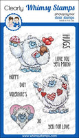 Whimsy - Clear Stamp Set - Yeti for Love - C1372