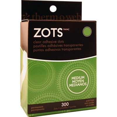 Zots Clear Adhesive Dots - Medium