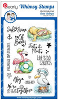 Whimsy - Clear Stamp - Ahoy, Matey!