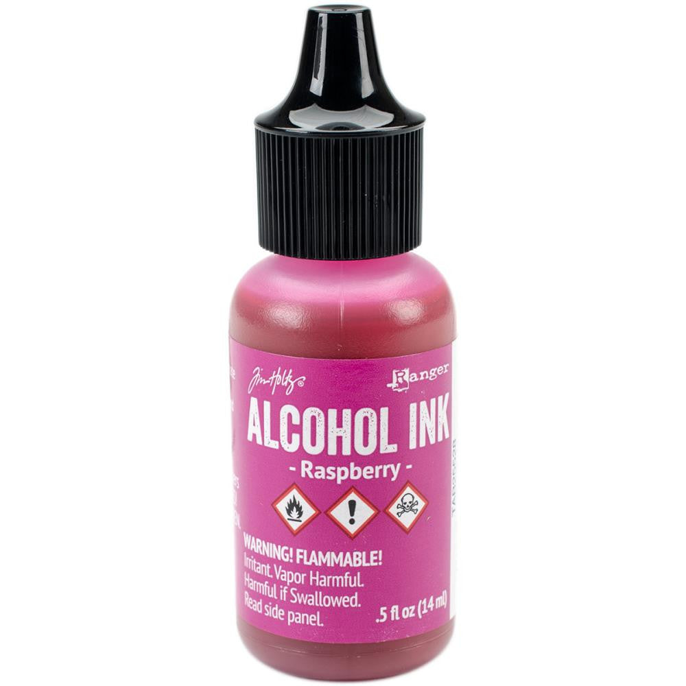 Ranger-Tim Holtz Adirondack Alcohol Ink Raspberry