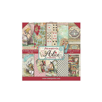 Stamperia - Alice - Double-Sided Paper Pad 12