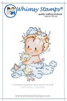 Whimsy - Rubber Stamp - New Baby