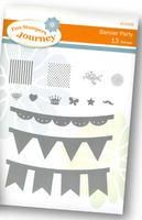 Spellbinders - Fun Stampers Journey - Banner Party Stamps
