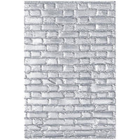 Sizzix - 3D Texture Fades Embossing Folder By Tim Holtz - Brickwork