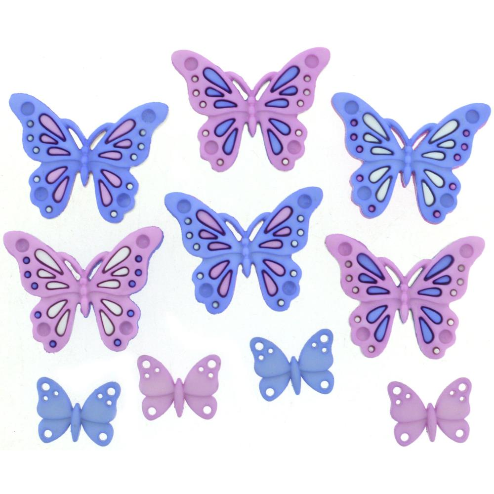 Dress It Up Embellishments - Sweet Butterflies