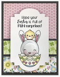 Darcie Heater Designs Flat Back Tin Pin - Easter Surprises - DHD420