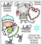 Darcie's Clear Polymer Stamp Set - Hello Winter - POL263