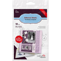 Scrapbook Adhesives Permanent Adhesive Sheets - 10/Pkg  4