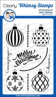 Whimsy - Elegant Ornaments Clear Stamps