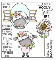 Darcie's Clear Polymer Stamp Set - Wooly Great Day - POL308