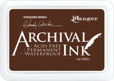 Ranger Mini Archival Ink Pads  - Acorn