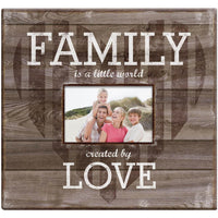 MBI-Family Love Post Bound Scrapbook With Window