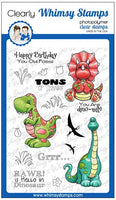 Whimsy - Clear Stamp - Dinosaur Friends