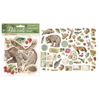 Stamperia - Die-Cuts - Forest