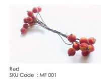 ICraft Frosted Berry Pollens - Frost Red