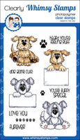 Furry Friends - CWSD196 - Clear Stamp