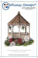 Whimsy - Cling Rubber Stamp - Gazebo