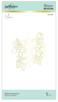 Spellbinders Glimmer Hot Foil - Glimmering Peony