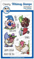 Whimsy - Clear Stamp - Gnome Gardeners