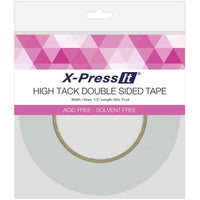 X-Press It High Tack Double-Sided Tissue Tape 1/2