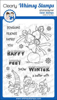 Whimsy - Clear Stamp Set - Happy Feet - CWSD351