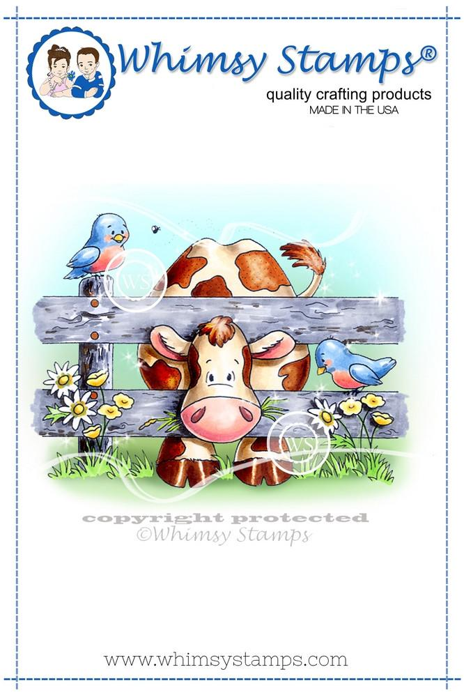 Hay, Whatzup, Buttercup - C1126 - Rubber Stamp