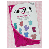 Heartfelt Creations - Die Set - Baby's Friends -  HCD1-7301