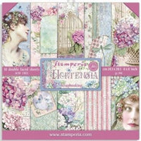 Stamperia - 8x8 Paper Collection - Hortensia